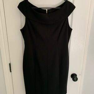 DKNY boat neck dress